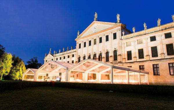 Tensostrutture a Villa Pisani